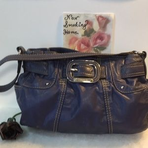 EUC TIGNANELLO NAVY BLUE BAG PURSE